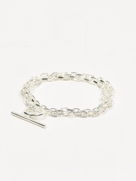 Anchor Bracelet - Polished Sterling Silver