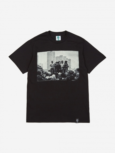 x Syd Shelton T-Shirt - Black