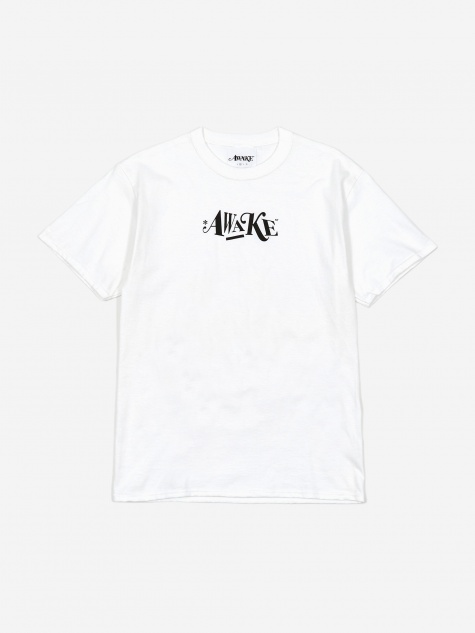 Distorted Logo T-Shirt - White