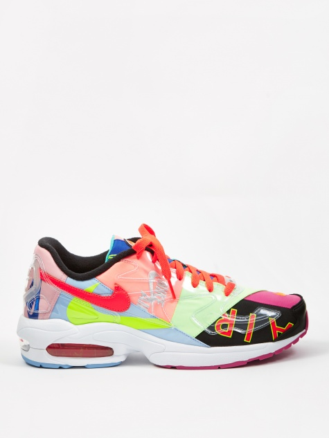 x Atmos Air Max 2 Light - Black/Crimson