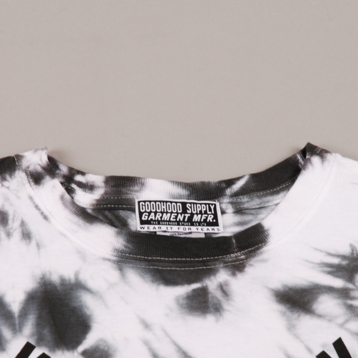 The Goodhood Store 5 Years Goodhood 5th Anniversary Way Back Tie Dye - White (Image 1)