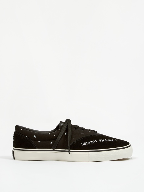 Oscar Lace-Up Sneakers - Black