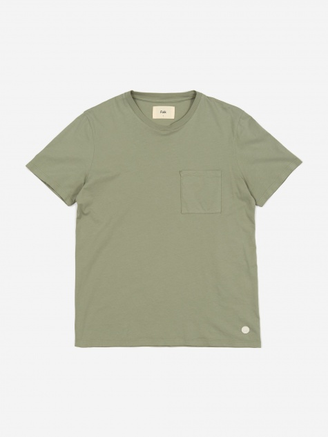 Pocket Assembly Tee - Green