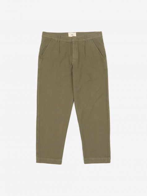 Signal Pants - Green Canvas