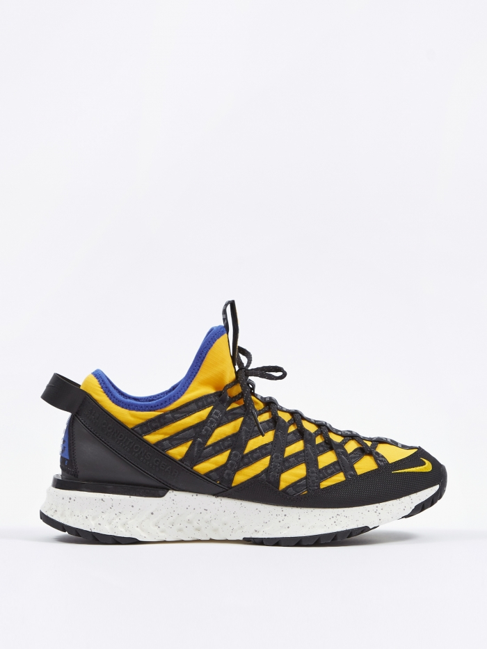 Nike Air ACG React Terra Gobe - Amarillo/Racer Blue-Black (Image 1)