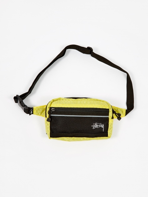 Diamond Ripstop Waist Bag - Lime