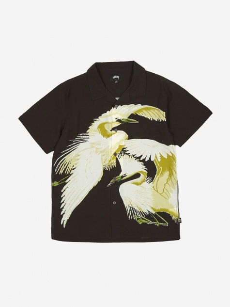 Big Crane Shirt - Black