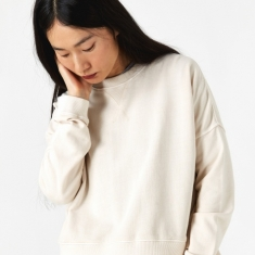 YMC Almost Grown Sweatshirt - Ecru