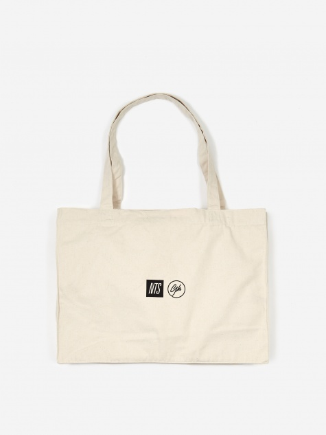 Goodhood x NTS No Posers Tote Bag - Natural
