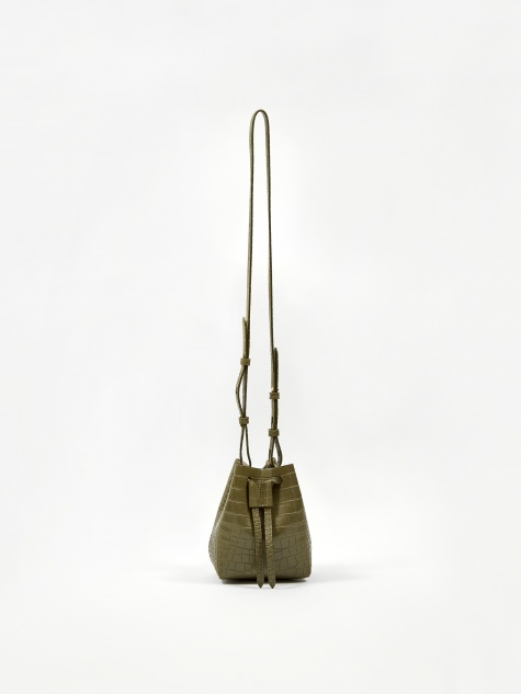 Minee Bucket Bag - Khaki