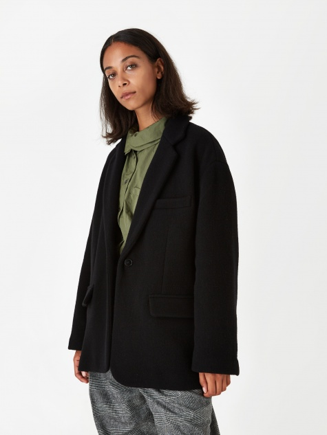 Barena Gianconda Coat - Black