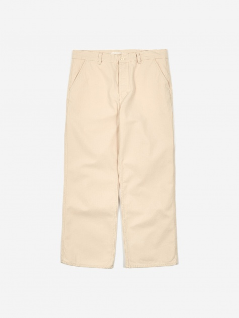 Carpenter Trouser - Ecru Herringbone