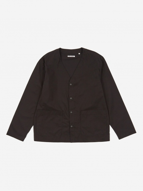 Tech Cardigan - Washed Black