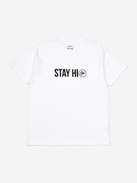 Goodhood Stay High T-Shirt- White