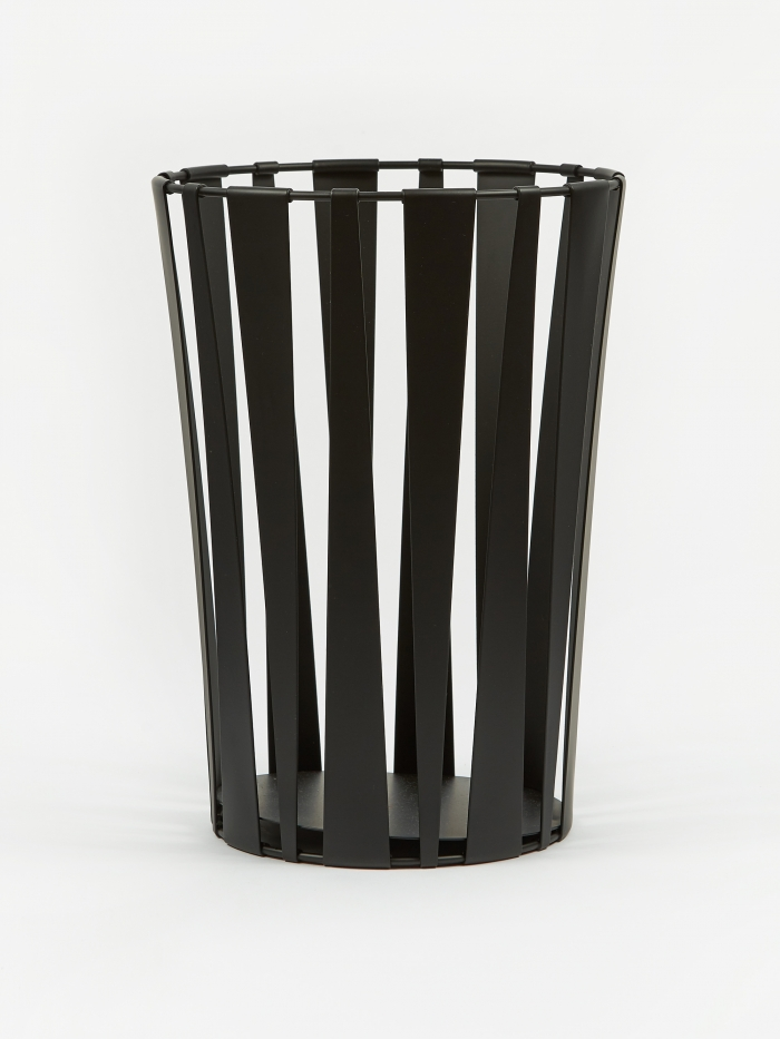 Ferm Living Rob Basket - Black (Image 1)
