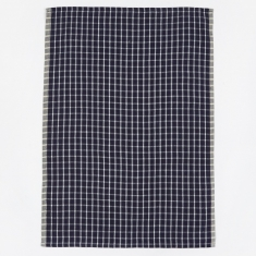Ferm Living Hale Yarn Dyed Linen Tea Towels - Blue