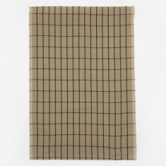 Ferm Living Hale Yarn Dyed Linen Tea Towels - Sand
