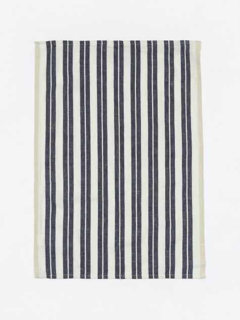 Hale Yarn Dyed Linen Tea Towels - Off-White