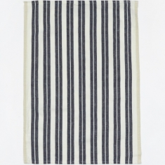 Ferm Living Hale Yarn Dyed Linen Tea Towels - Off-White