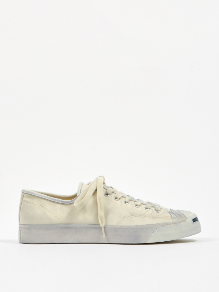 Converse Jack Purcell Ox - Egret/Black (Image 1)