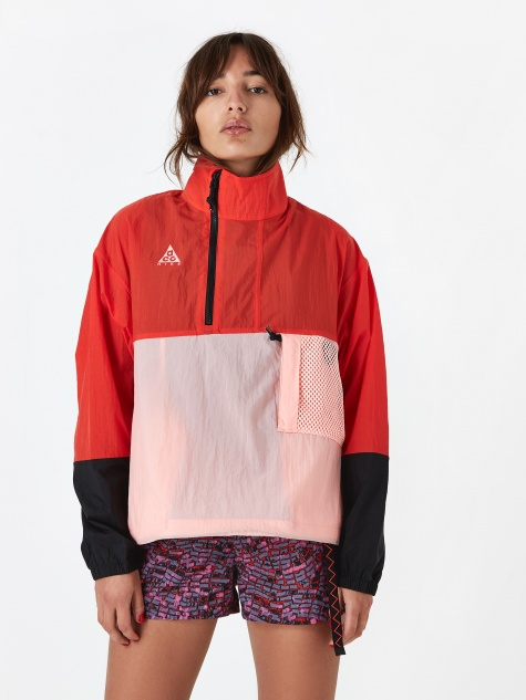 ACG Anorak Jacket - Habanero Red/Coral/Blue Force