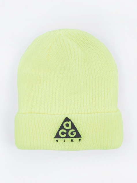 ACG Beanie Hat - Barely Volt/Black