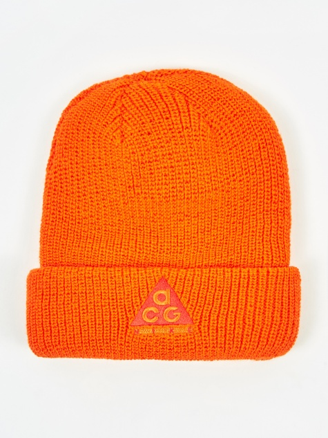 ACG Beanie Hat - Safety Orange/Habanero Red