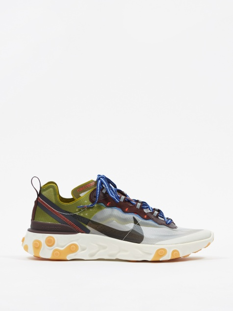 React Element 87 - Moss/Black/El Dorado/Royal Blue