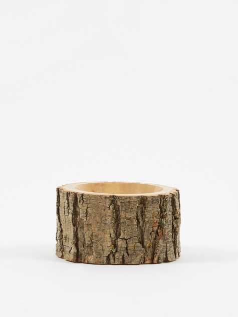 "Log Bowl 3.5""- 4.5"" - Clear/Natural"
