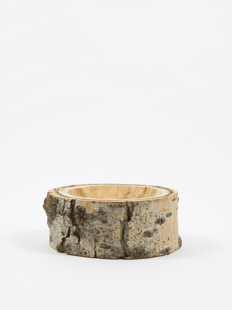 "Log Bowl 5.5""- 6.5"" - Clear/Natural"