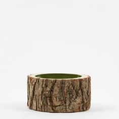 "Loyal Loot Log Bowl 5.5""- 6.5"" - Green Olive"