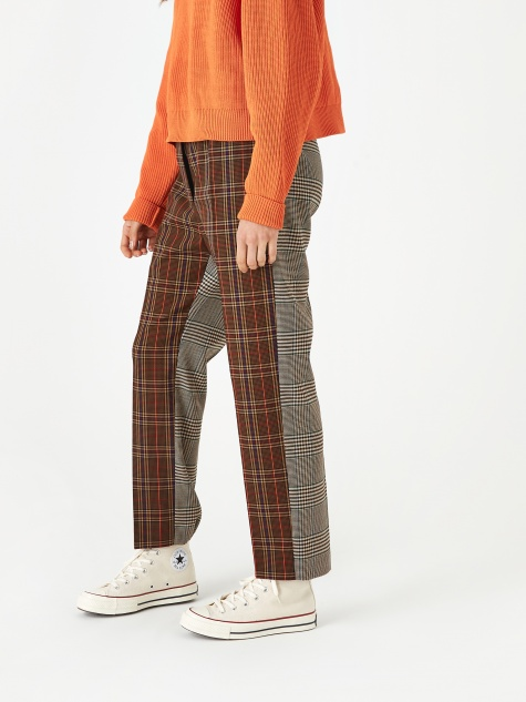 Narrow Trouser - Brown Check