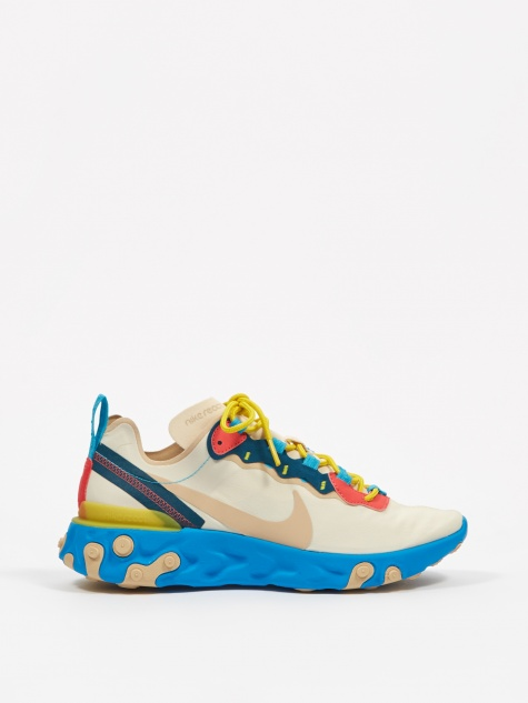 React Element 55 - Light Cream/Desert Ore/Light Blue Fury