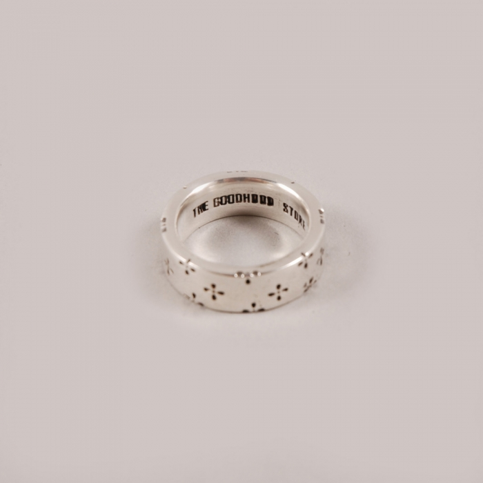 Goods By Goodhood Goodhood 5th Anniversary x Dog State Silver Ring - Large (Image 1)