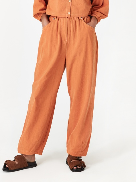 Fat Boy Trouser - Burnt Orange