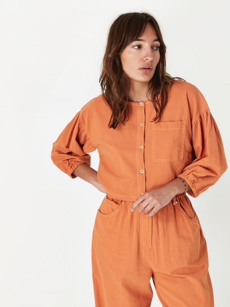 Fleet Top - Burnt Orange