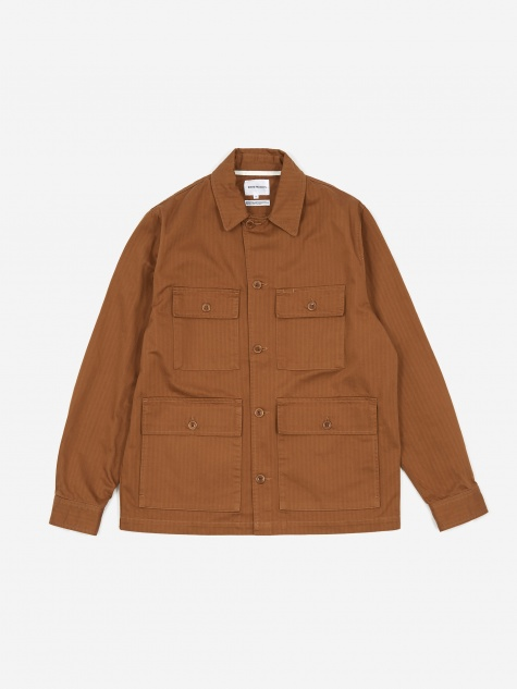 Mads Cotton Jacket - Russett