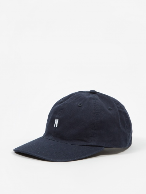 5283c254bb467 Twill Sports Cap - Dark Navy