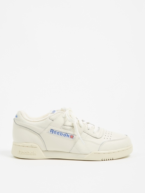 Reebok Workout Plus 1987 TV - Chalk/White/Royal