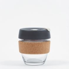KeepCup Cork Brew Reusable 8oz Glass Coffee Cup - Press