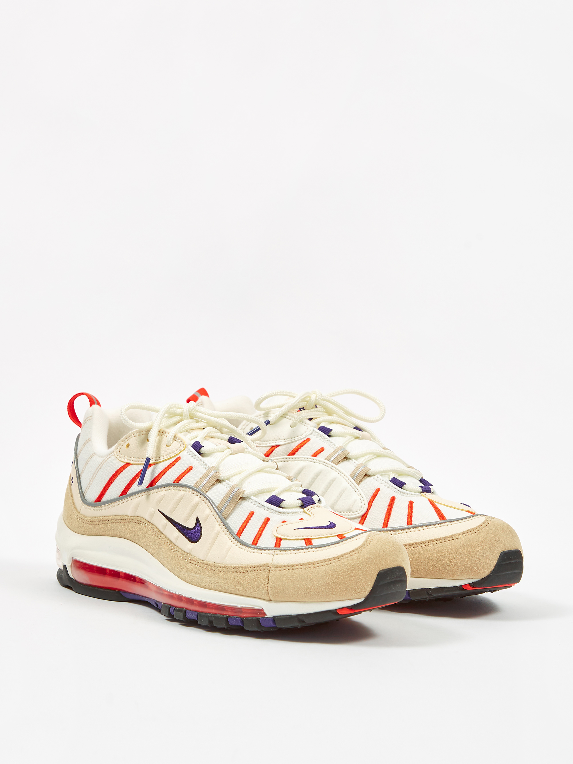 Nike Air Max 98 SailPurpleCreamDesert Ore