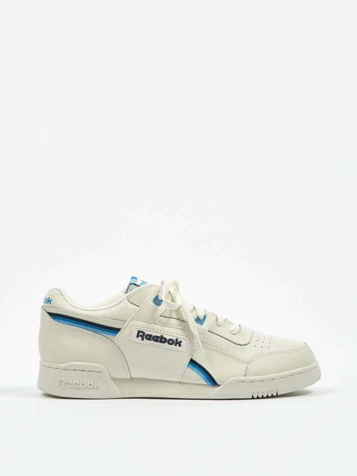 Reebok Workout Plus MU - Chalk/Navy/Cyan (Image 1)