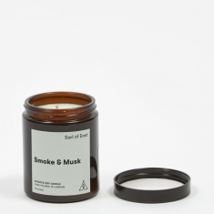 Earl of East London Soy Wax Mid-Size Candle - Smoke & Musk