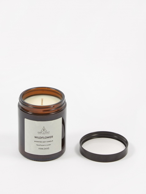 Soy Wax Mid-Size Candle - Wildflower