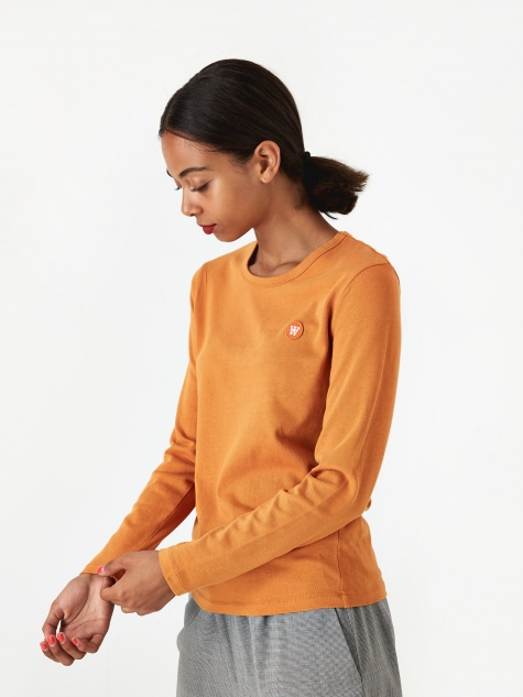 Moa Longsleeve T-Shirt - Orange