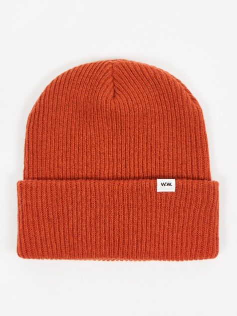Wood Wood Mande Beanie Hat - Orange