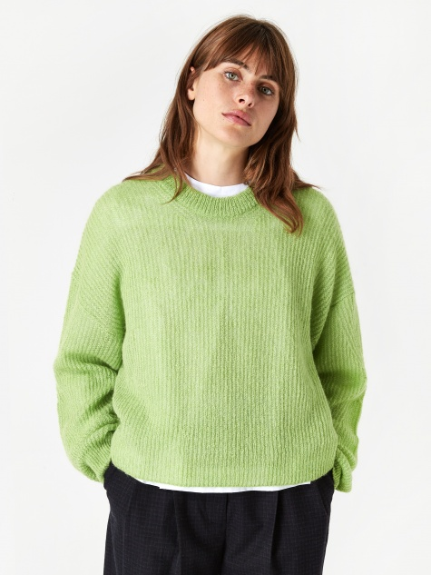 Tilda Sweater - Bright Green