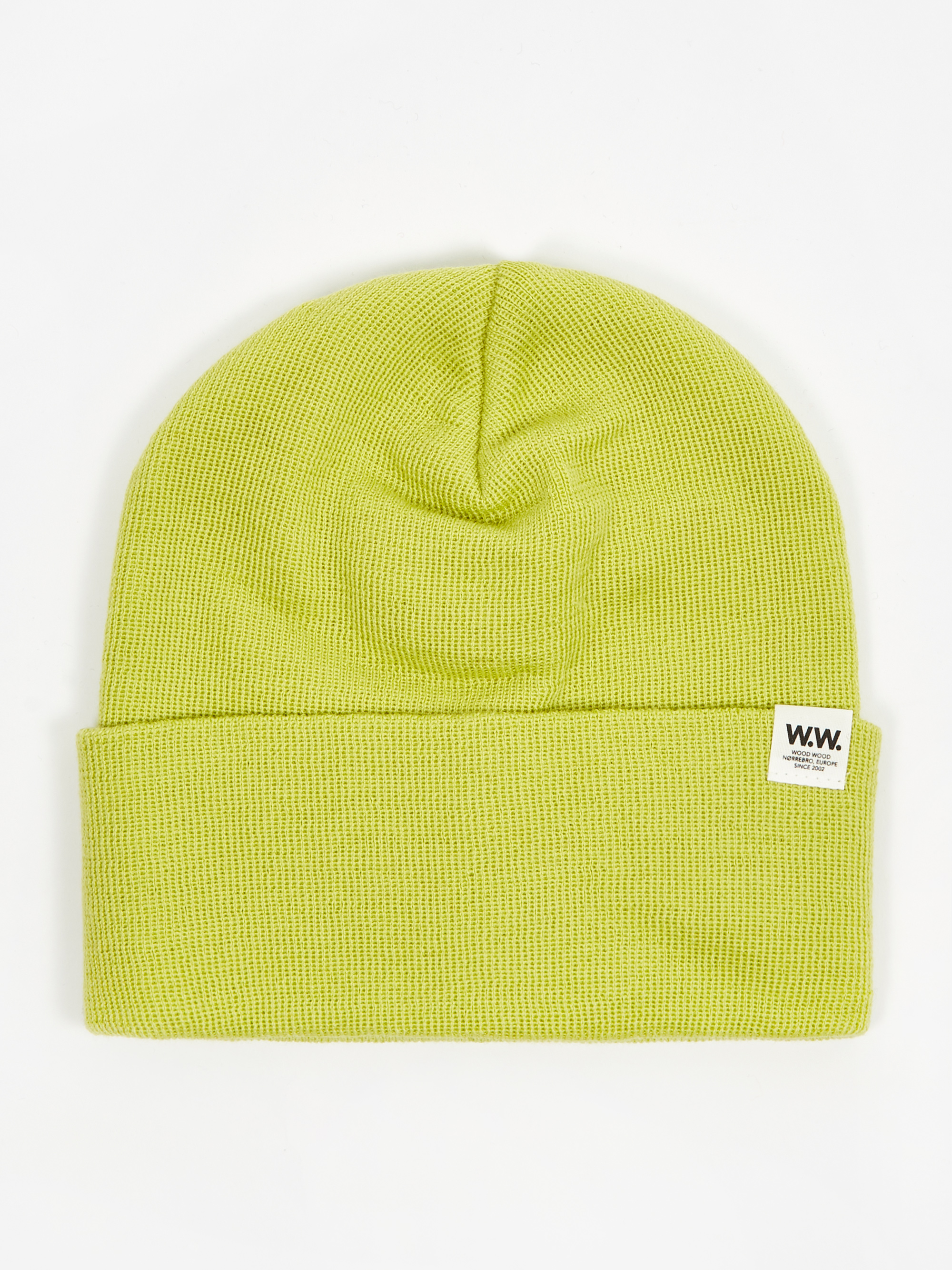 3b74f6a71 Wood Wood Gerald Tall Beanie Hat - Bright Green