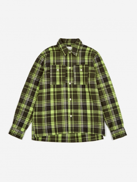 Franco Shirt - Green Check