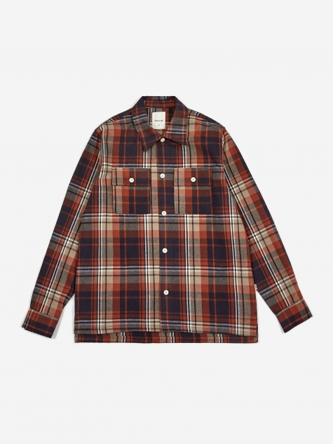 Franco Shirt - Rust Check